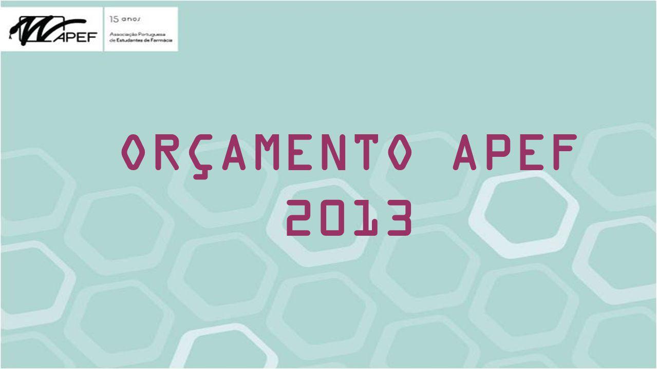 ORÇAMENTO APEF 2013