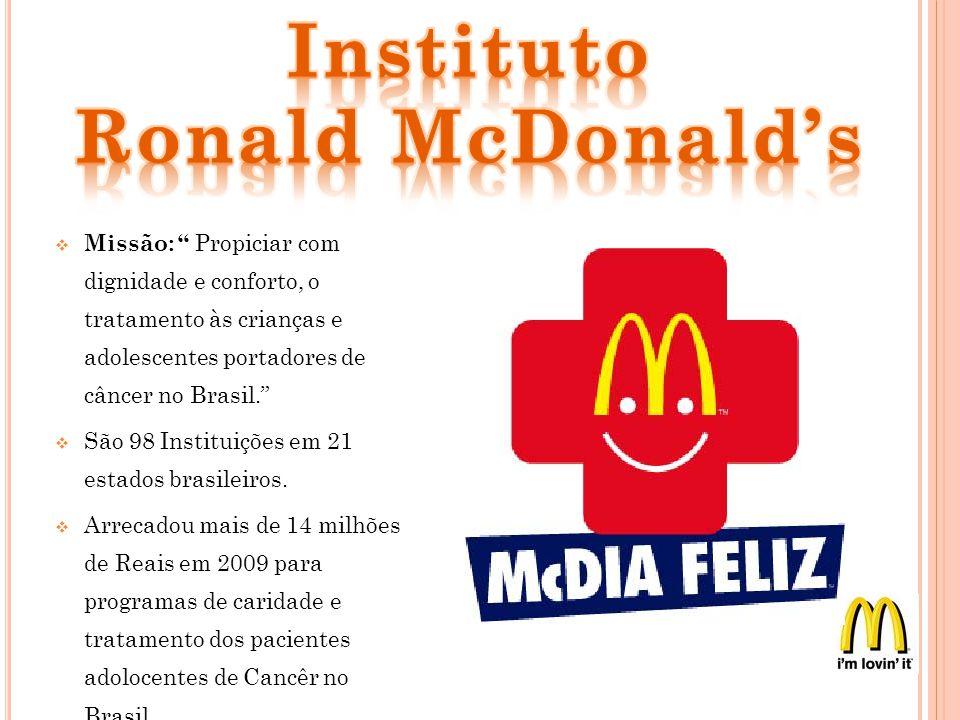 Distribuidora e Operadora exclusiva do Mcdonalds no brasil desde 1982 é Martin-Brower do Brasil; Fornecendo e atendendo todos os 580 Mcdonalds espalhados pelos 22 estados.