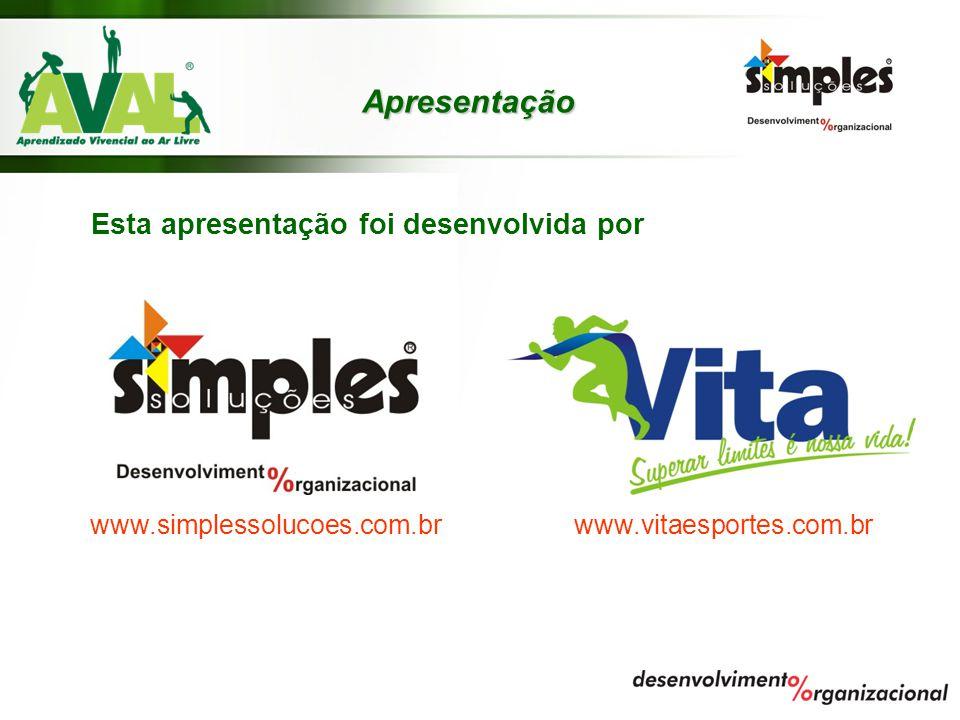 Apresentação Esta apresentação foi desenvolvida por www.simplessolucoes.com.br www.vitaesportes.com.br