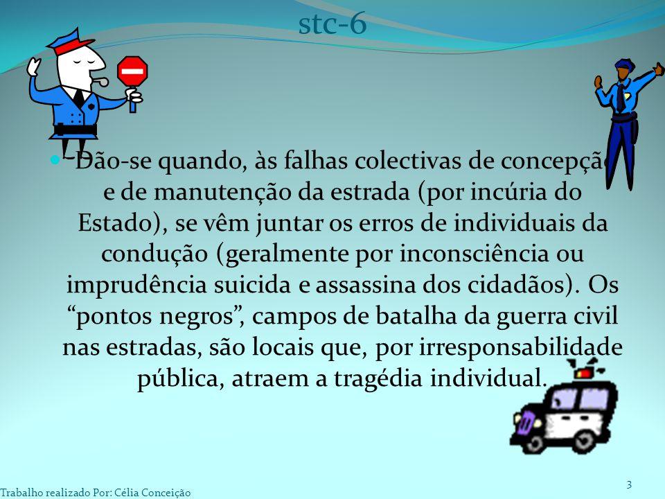 Dão-se quando, às falhas colectivas de concepção e de manutenção da estrada (por incúria do Estado), se vêm juntar os erros de individuais da condução