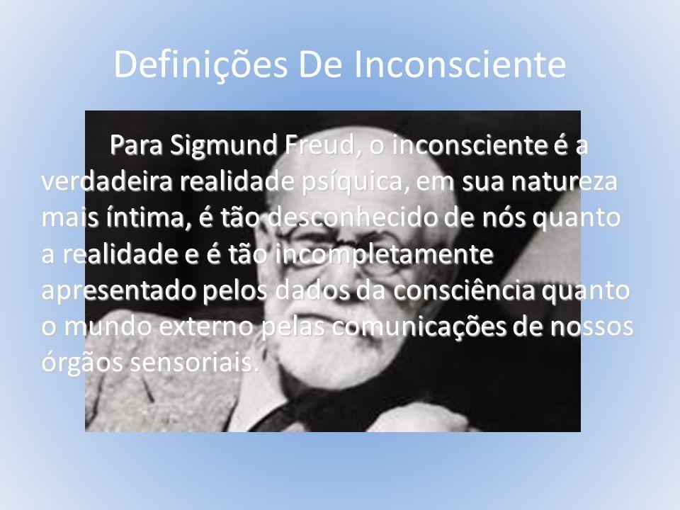 DEFINIÇÕES DO INCONSCIENTE C.G.