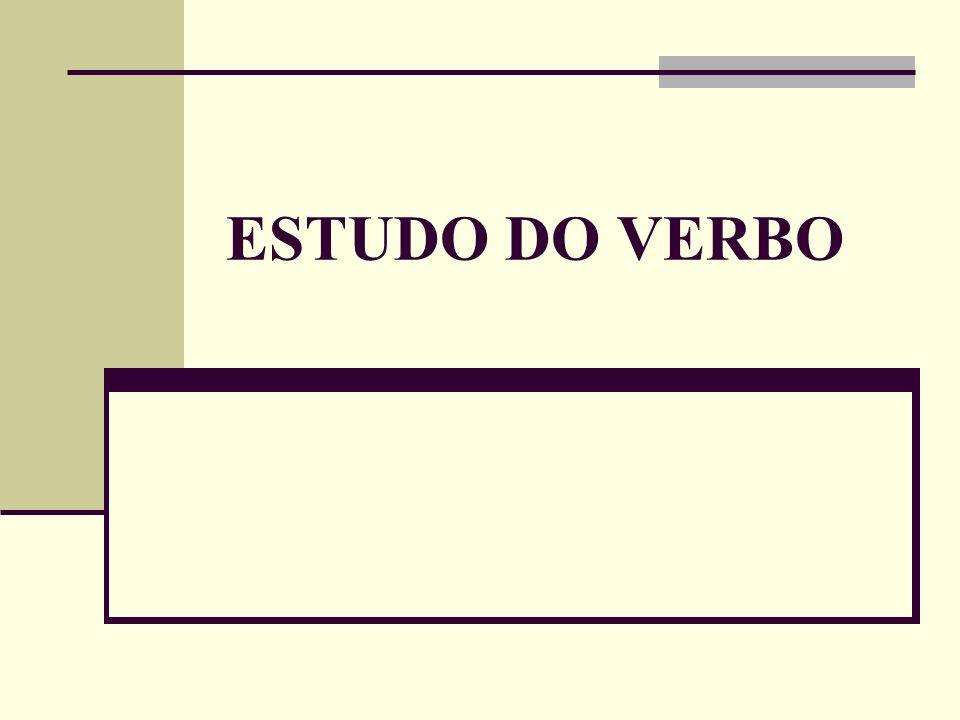 Flexão verbais Os verbos têm as seguintes categorias de flexão: Número: singular e plural.