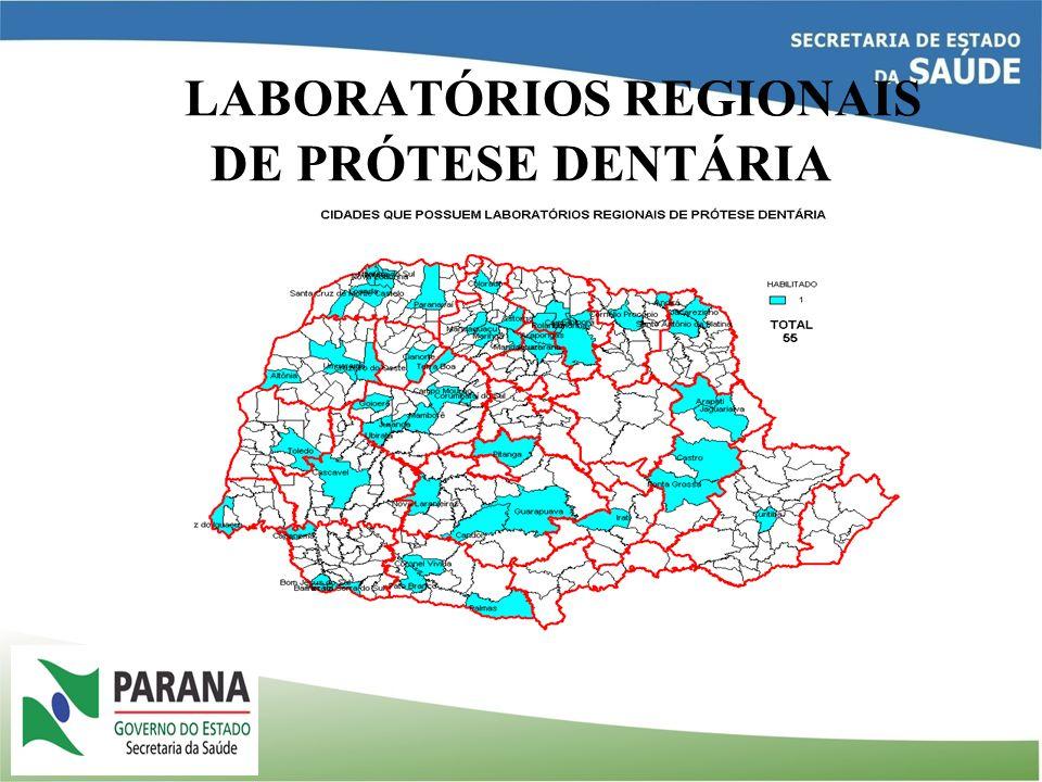 LABORATÓRIOS REGIONAIS DE PRÓTESE DENTÁRIA