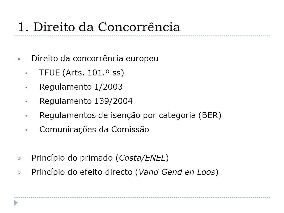 3.Acordo proibido Carácter sensível Acordos entre concorrentes – q.m.