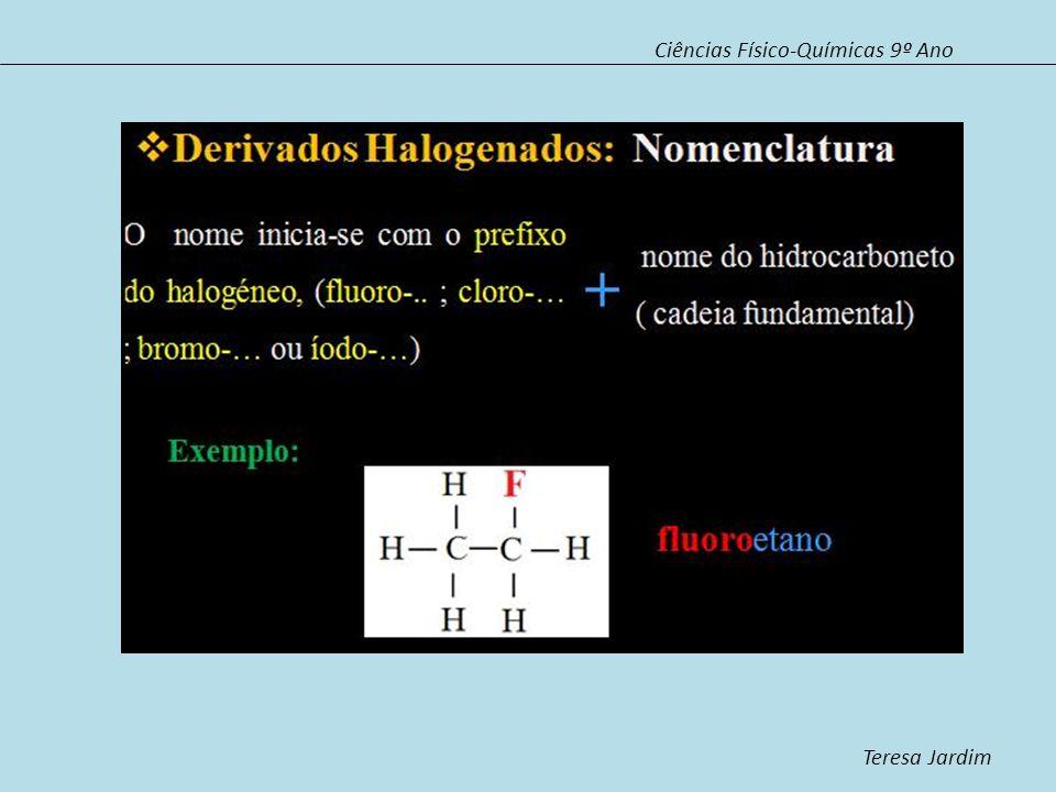 Ciências Físico-Químicas 9º Ano Teresa Jardim Os Álcoois Os álcoois caracterizam-se por possuírem um ou mais grupos hidroxilo, ligados à cadeia carbonada.