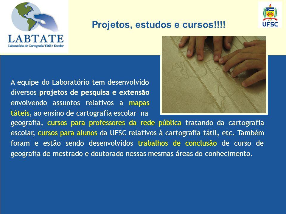 VISITE O SITE PARA OBTER MAIORES INFORMAÇÕS www.labtate.ufsc.br OBRIGADA.