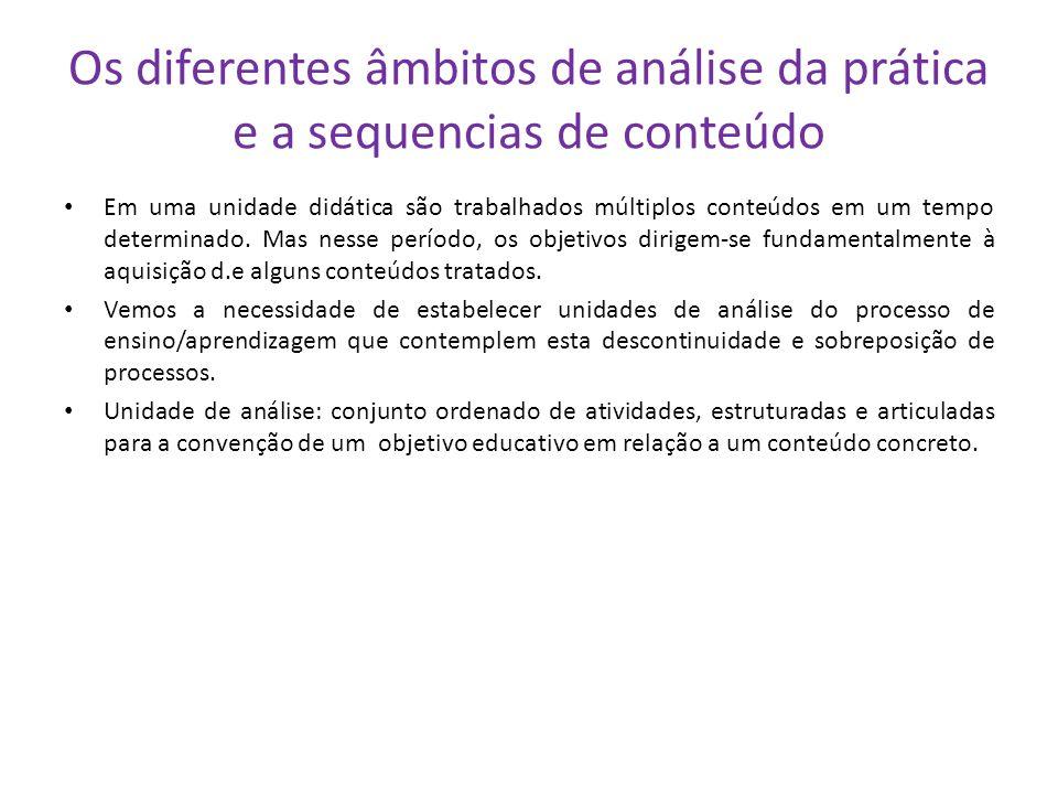 Conteúdos referentes a valores, normas e atitudes Os processos de aprendizagem devem abranger ao mesmo tempo os campos cognoscitivos, afetivos e compo