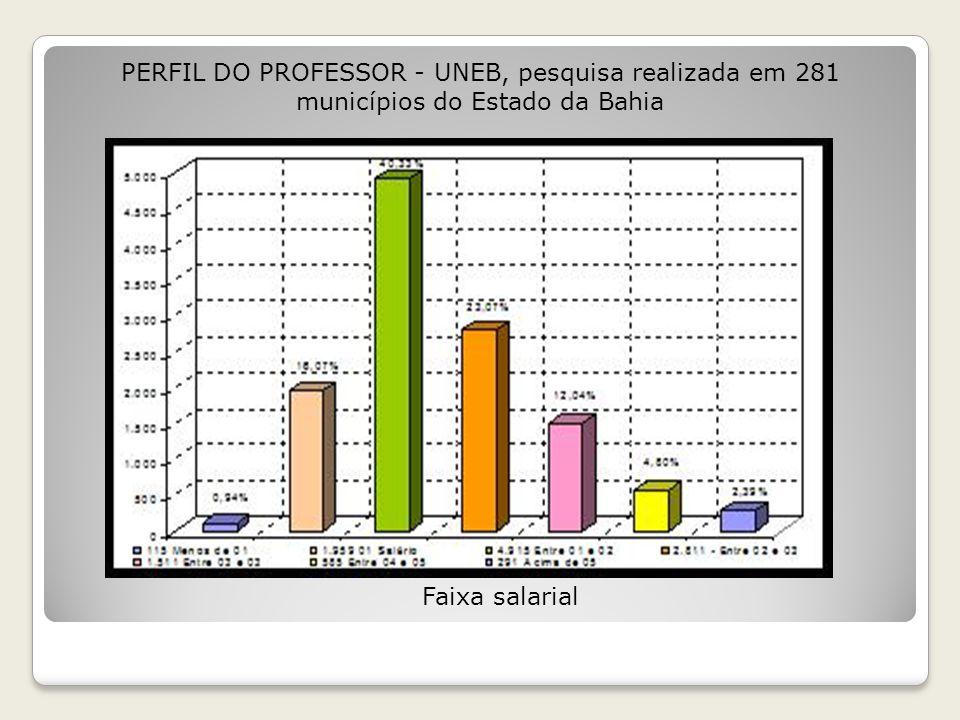 Acesso ao Computador PERFIL DO PROFESSOR - UNEB, pesquisa realizada em 281 municípios do Estado da Bahia