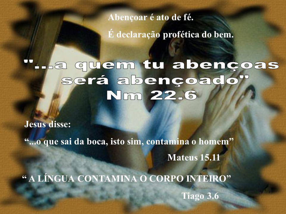 Não saia de vossa boca nenhuma palavra torpe, e, sim, unicamente, a que for boa para edificação, conforme a necessidade, e assim transmitir graça aos que ouvem.