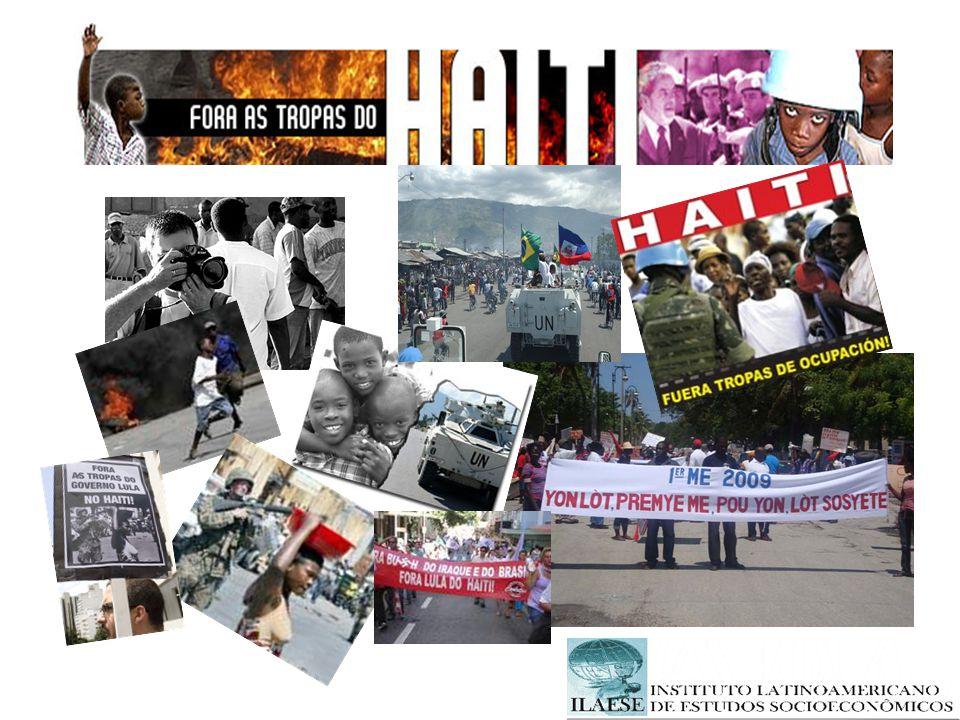 O QUE GANHAM AS EMPRESAS BRASILEIRAS COM A OCUPAÇÃO MILITAR Em agosto do ano passado, o jornal Valor Econômico trazia uma notícia sobre o interesse da indústria brasileira no Haiti.