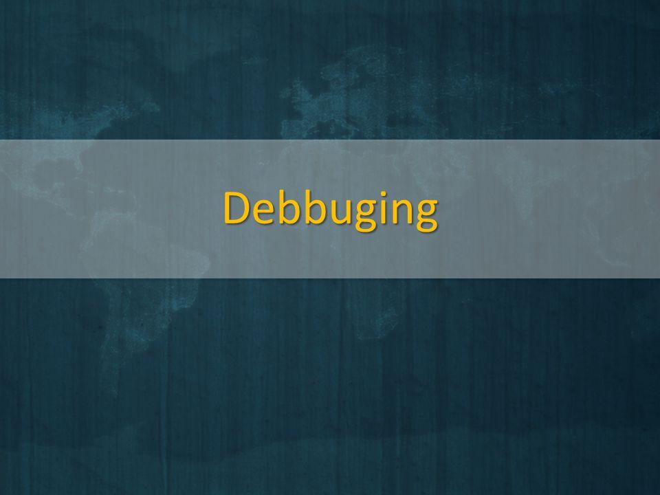 Debbuging