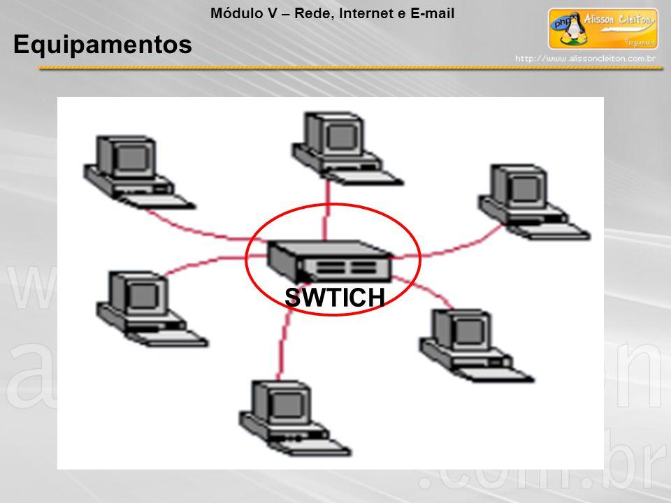 Equipamentos Módulo V – Rede, Internet e E-mail SWTICH