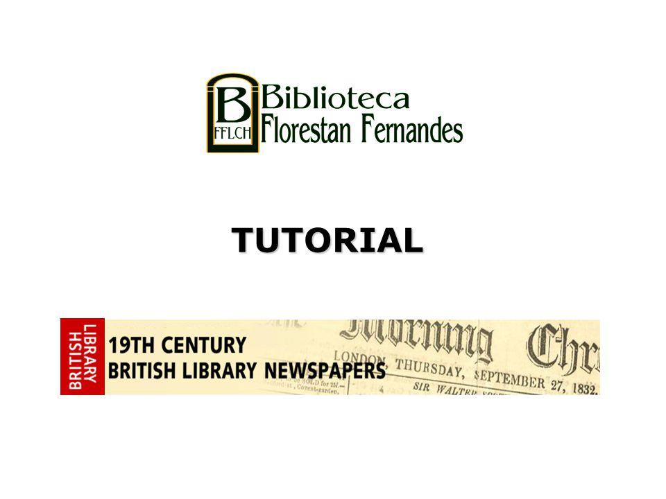 Acervo de 47 jornais especialmente selecionados pela British Library para melhor representar o século XIX.
