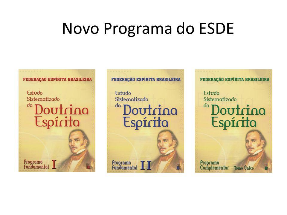 Novo Programa do ESDE