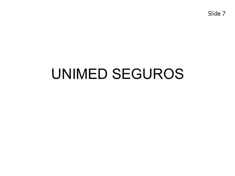 UNIMED SEGUROS Slide 7