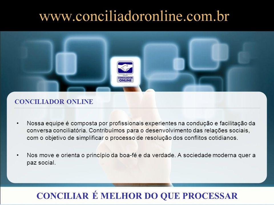 COMO FUNCIONA CONCILIAR É MELHOR DO QUE PROCESSAR