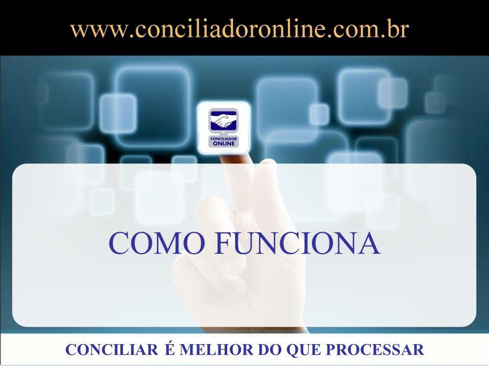 Através do campo autenticidade é possível visualizar os documentos firmados pelo Conciliador Online.