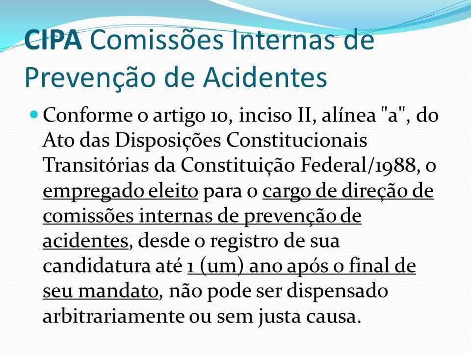 Garantia de Emprego CIPA
