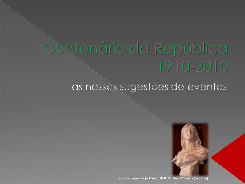 Busto da República (original), 1908, Simões dAlmeida (sobrinho)