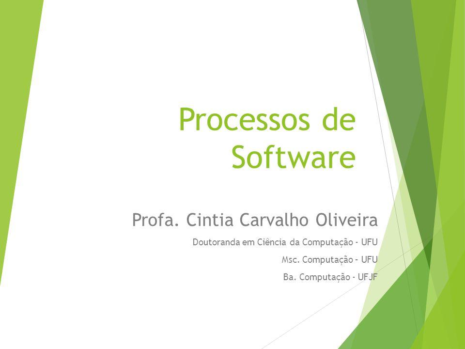 Processos de Software Profa.