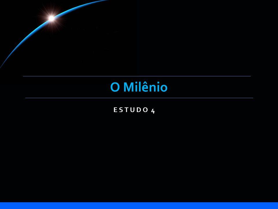 Introdução A palavra milênio vem do latim mille, que significa mil, e relaciona-se com a declaração em Apocalipse:...