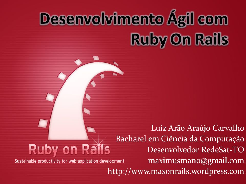 Ruby - Tipos String Capitalize palmas.
