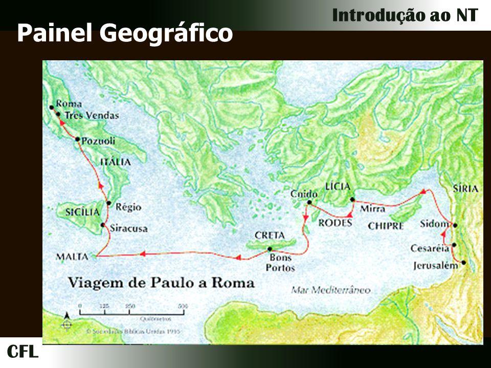 CFL Introdução ao NT Painel Geográfico