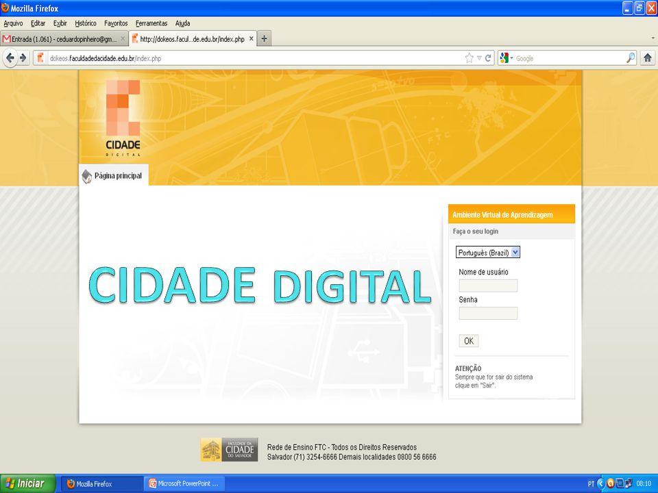 ENTENDENDO O PROGRAMA PROGRAMA DIGITAL Cidade Digital: um Programa que une tecnologia, conhecimento e flexibilidade.