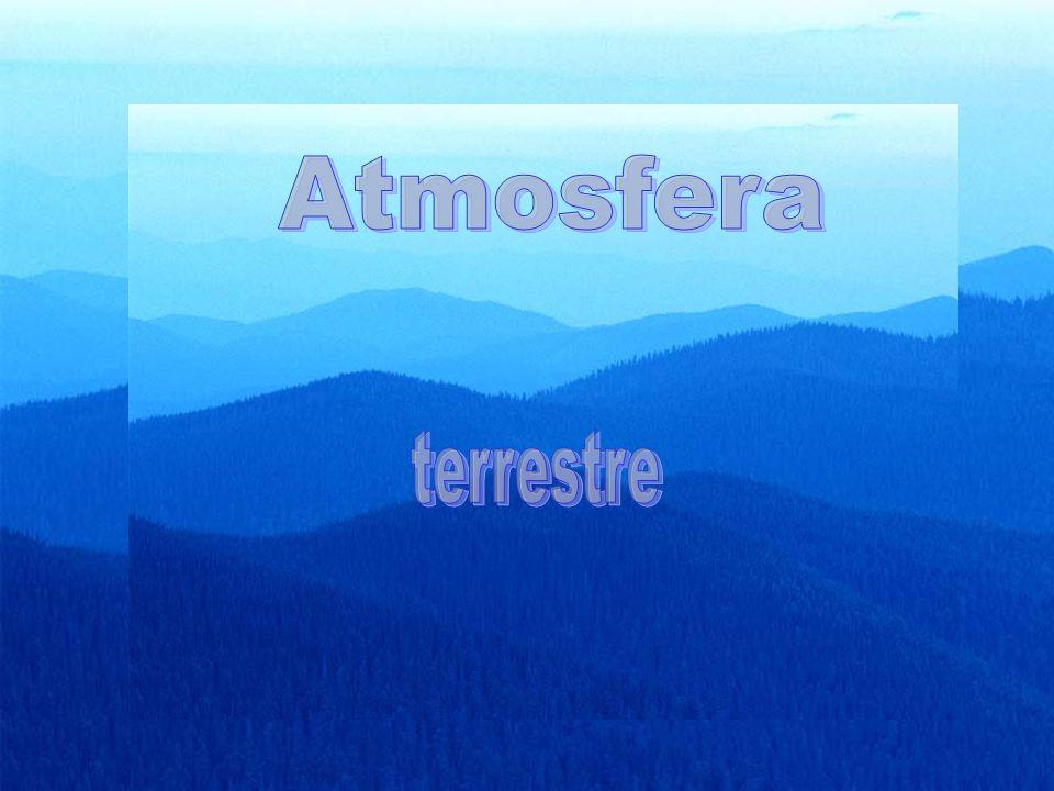 A Terra encontra-se envolta numa protecção gasosa chamada atmosfera.