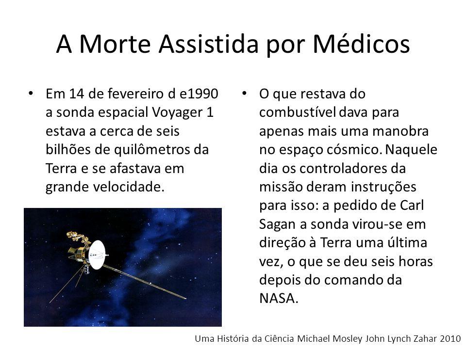 A Morte Assistida por Médicos Em 14 de fevereiro d e1990 a sonda espacial Voyager 1 estava a cerca de seis bilhões de quilômetros da Terra e se afasta