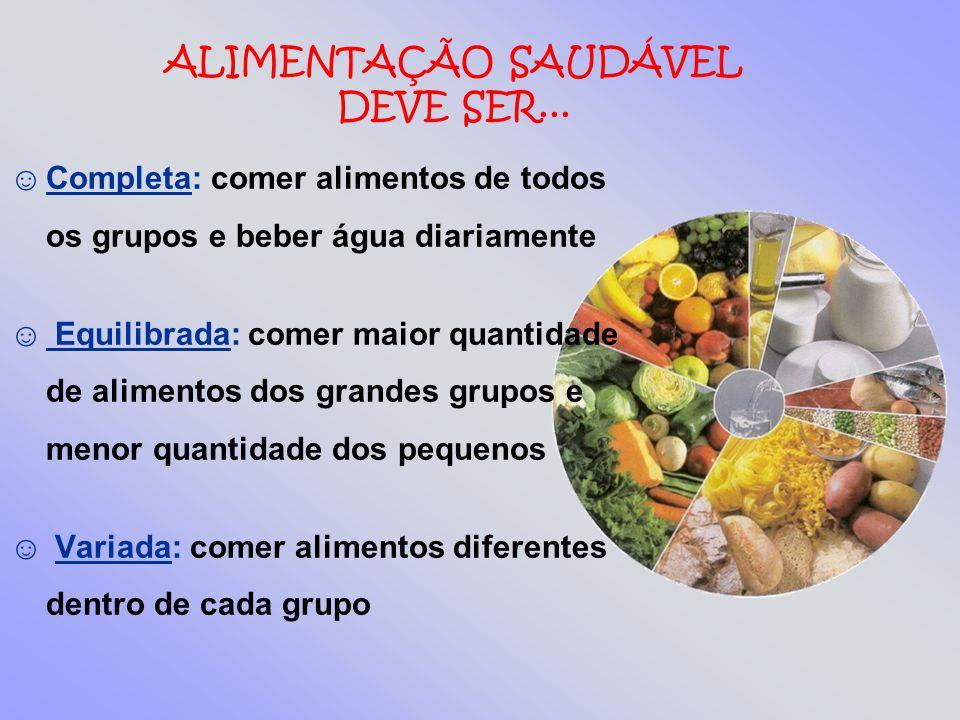 Fruta É rica em vitaminas, sais minerais e fibras.