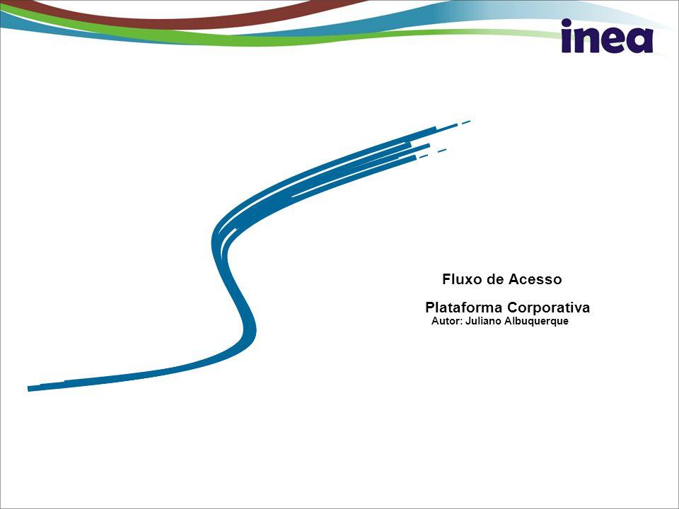 Pag. 0 Fluxo de Acesso Plataforma Corporativa Autor: Juliano Albuquerque