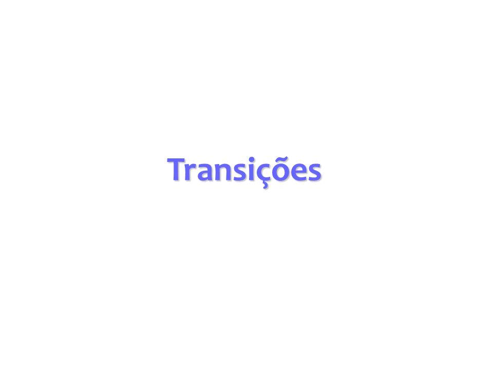 Transições Verticais Supondo canais retangulares largos e desprezando- se a perda de carga, pode-se obter a seguinte expressão (a partir da equação de Bernoulli): Para Elevação do fundo do canal - Se Fr<1 Profundidade do escoamento diminui - Se Fr>1 Profundidade do escoamento aumenta