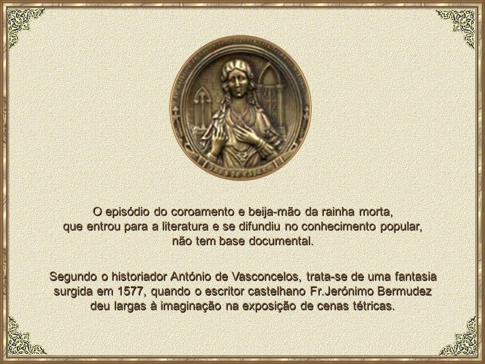 D.Inês de Castro e D.Pedro continuam sepultados, até aos dias de hoje, nos magníficos túmulos colocados no transepto da Igreja do Mosteiro de Alcobaça