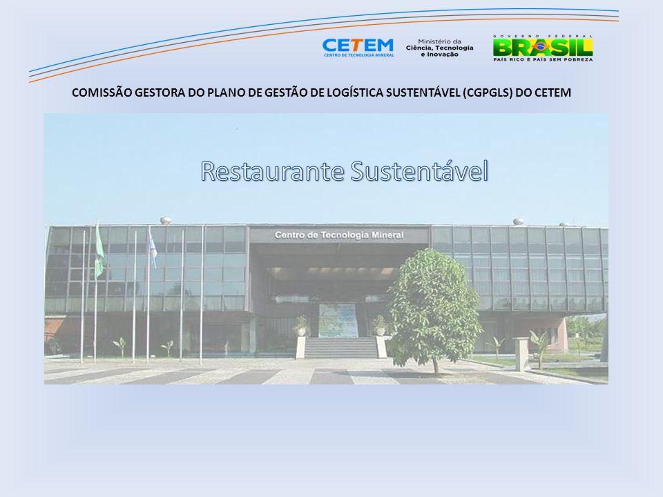 COMISSÃO GESTORA DO PLANO DE GESTÃO DE LOGÍSTICA SUSTENTÁVEL (CGPGLS) DO CETEM
