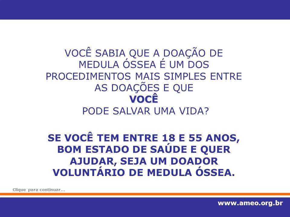 Para se tornar doador: Tel.: (11) 3226-7258 ou 3224-0122 ramal 5989 Agendamento de exames para doadores de medula óssea Hemocentro da Santa Casa de São Paulo Hemocentro da Santa Casa de São Paulo R.