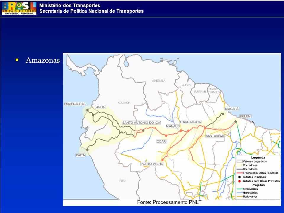 Ministério dos Transportes Secretaria de Política Nacional de Transportes Amazonas