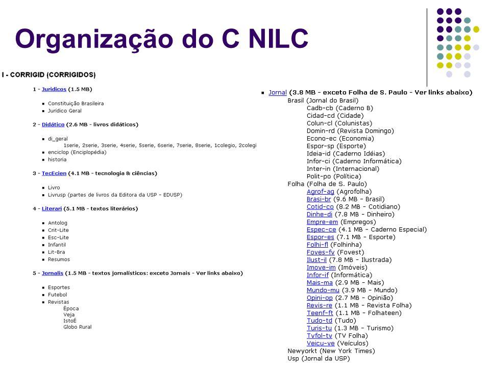 Organização do C NILC