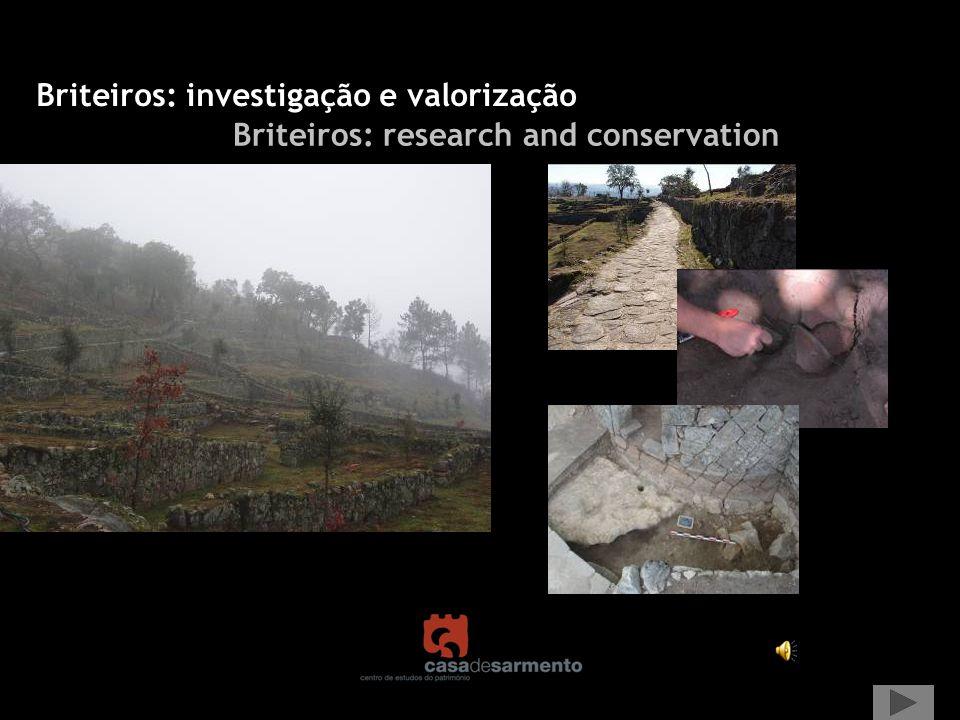 Briteiros: investigação e valorização Briteiros: research and conservation