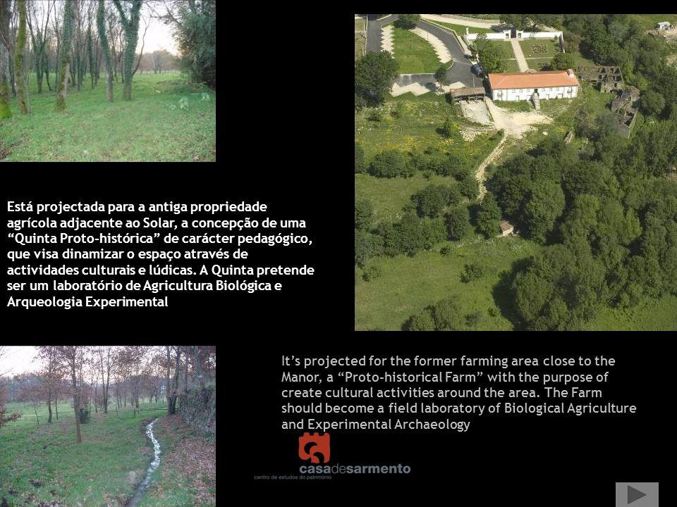 Para melhorar a interacção com a comunidade local, concretizaram- se duas edições de um evento de recriação histórica nas ruínas (a Citânia Viva).