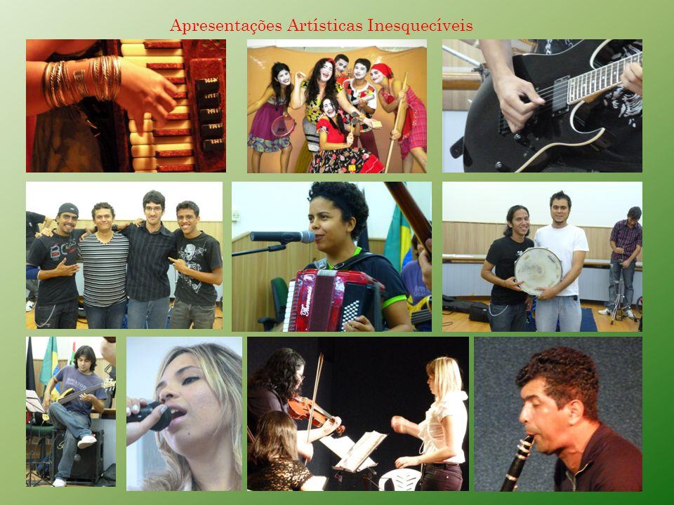 PECULIARIDADES DO NACE E DO CURSO DE MÚSICA: Um diferencial nos cursos oferecidos é o trabalho voltado para a música brasileira e em especial a nordestina.