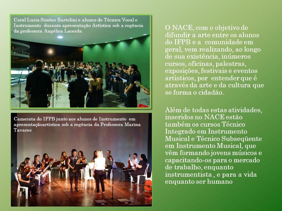 NACE NACE NÚCLEO DE ARTES, CULTURA E EVENTOS