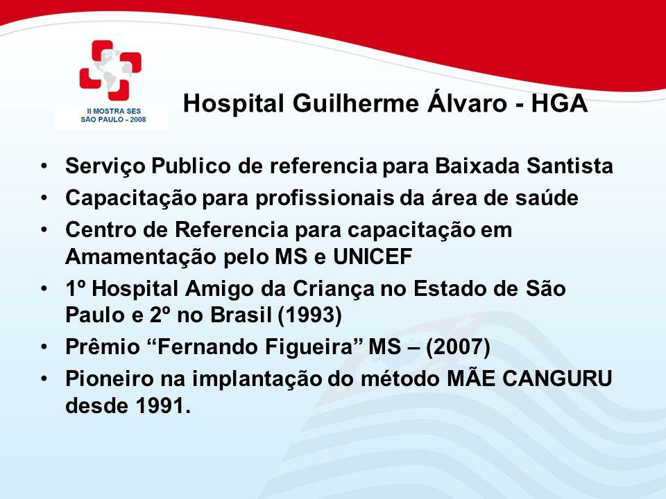 Serviço Publico de referencia para Baixada Santista Capacitação para profissionais da área de saúde Centro de Referencia para capacitação em Amamentaç