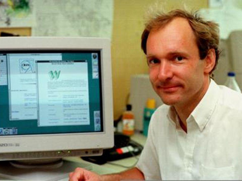 Web em 1989 Passado