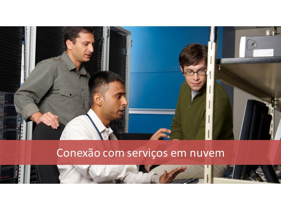 Conexão com serviços em nuvem