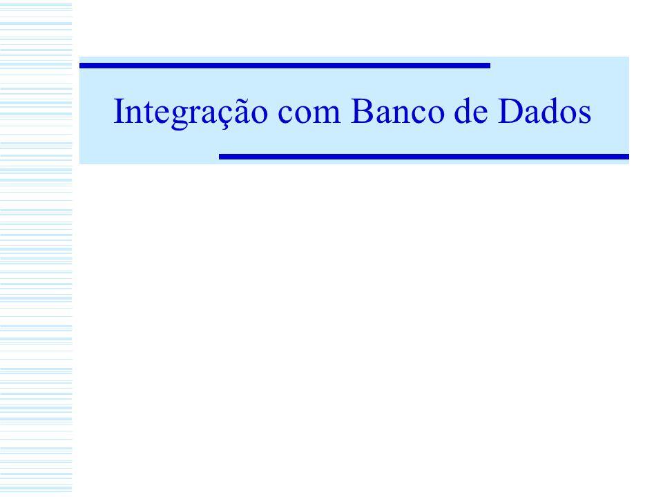 Integração com Banco de Dados