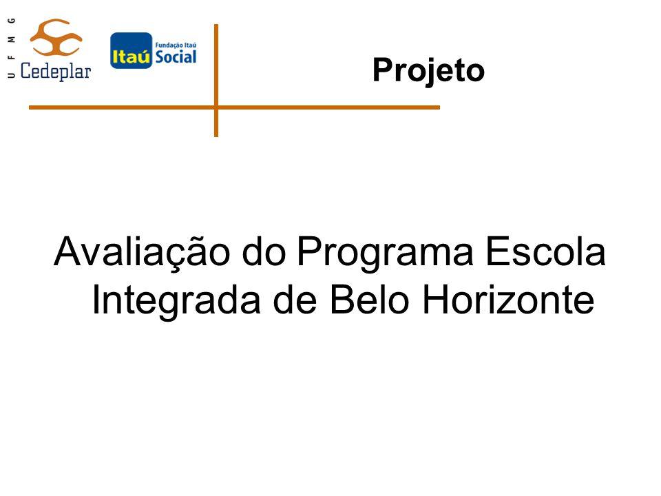 Projeto Avaliação do Programa Escola Integrada de Belo Horizonte