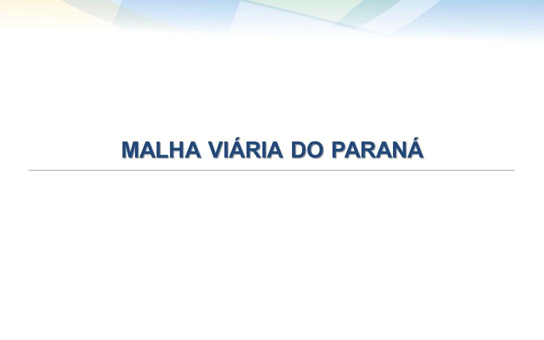MALHA VIÁRIA DO PARANÁ
