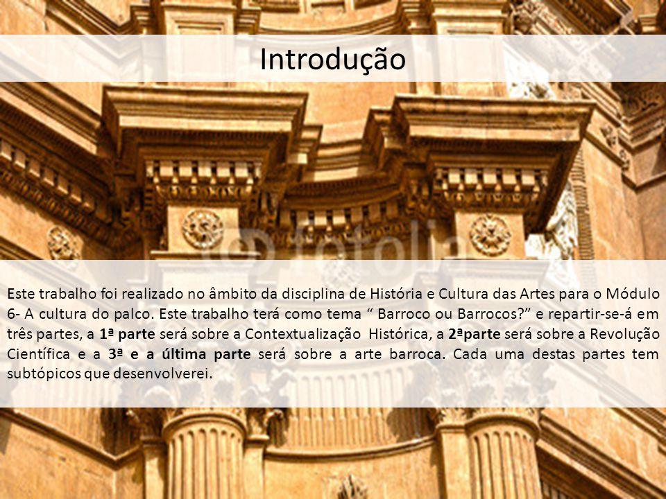 Introdução Este trabalho foi realizado no âmbito da disciplina de História e Cultura das Artes para o Módulo 6- A cultura do palco. Este trabalho terá