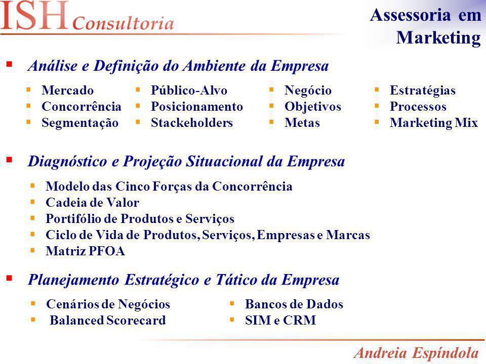 Diagnóstico e Projeção Situacional da Empresa Planejamento Estratégico e Tático da Empresa Mercado Concorrência Segmentação Estratégias Processos Mark